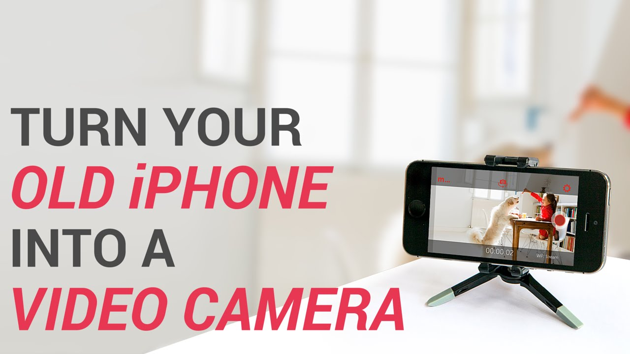 Turn Your Old iPhone or iPad Into a Security Camera