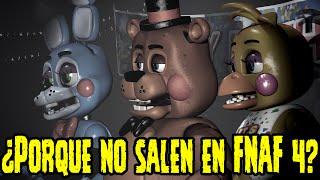 ¿Porque Los Animatronicos Toys No Salen En Five Nights At Freddy's 4? | FNAF 4 thumbnail