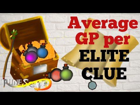 Average Loot Per Elite Clue Revealed! Breakdown From Over 14,500 Elite Clues [RS3]