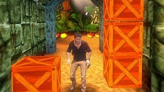 Uncharted 4 Mod: Nate in Crash Bandicoot Level