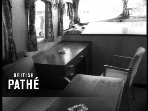 News In Flashes - Largest Aluminium Yacht (1952)