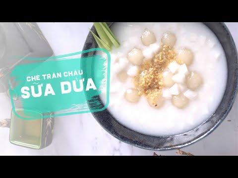 Cách Làm Chè Trân Châu Sữa Dừa Mát Lịm Cực Ngon | Học Nấu Ăn Gia Đình | Hướng Nghiệp Á Âu