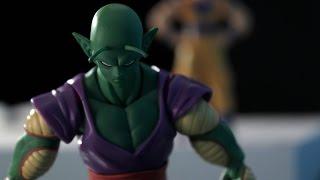 Dragon Ball Z   Stop Motion   Son Goku vs Piccolo