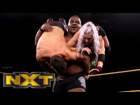 Keith Lee & Mia Yim vs. Johnny Gargano & Candice LeRae – Mixed Tag Match: WWE NXT, June 10, 2020