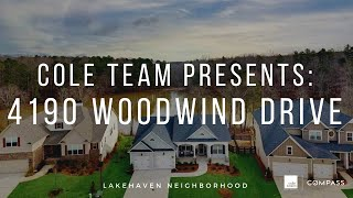 COLE TEAM Introduces: 4190 Woodwind Dr, Cumming, GA 30028