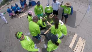 HILTON TEAM BUILDING - RAFT CONSTRUCTION - MAY 2019