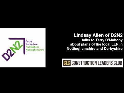 Construction Leaders Club interviews Lindsay Allen of D2N2