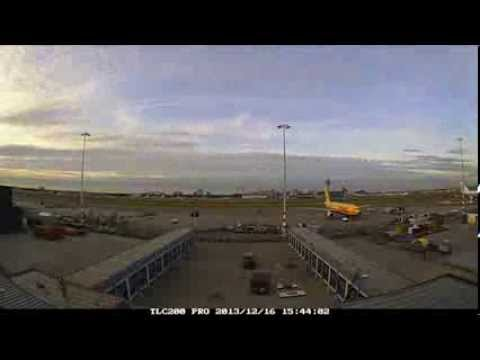 Timelapse opbouw DHL Service Center Amsterdam