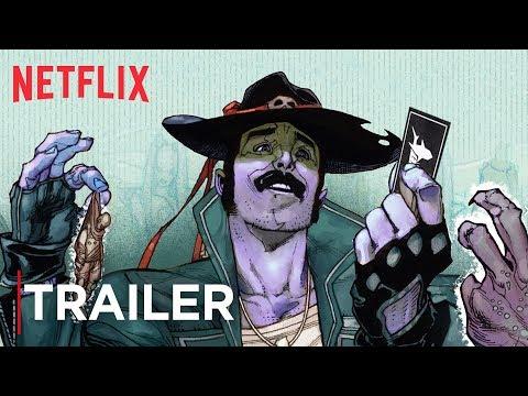 Sharkey The Bounty Hunter | Comic Book Trailer [HD] | Netflix