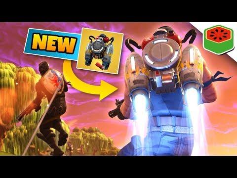 NEW JETPACK + ROCKET RIDE! | Fortnite Battle Royale