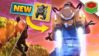 NEW JETPACK + ROCKET RIDE! | Fortnite Battle Royale thumbnail