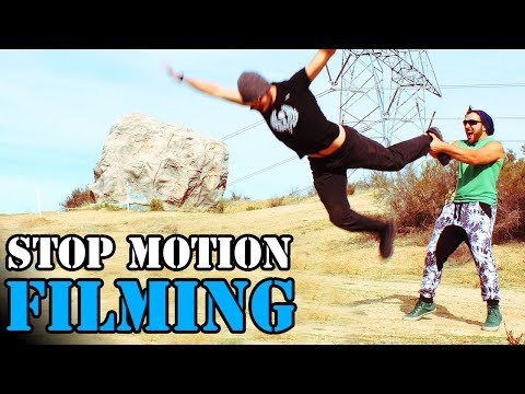 HOW TO FILM STOP MOTION LIKE ME! (Pixilation Tutorial)