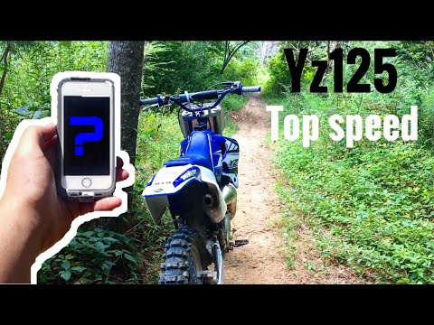 Here's How Fast A Yz125 Can Go | Official Top Speed