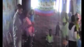 Christian indian song in Village Dhina  Punjab, India