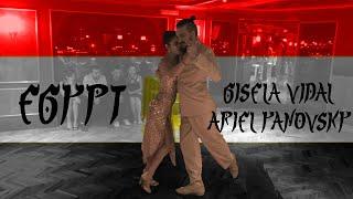 Tango in Egypt - Gisela Vidal & Ariel Yanovsky in Le Pacha Boat (Zamalek)