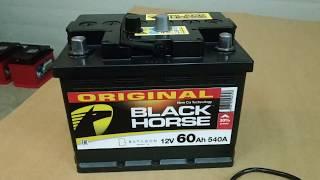 Аккумулятор Black Horse 60 а ч