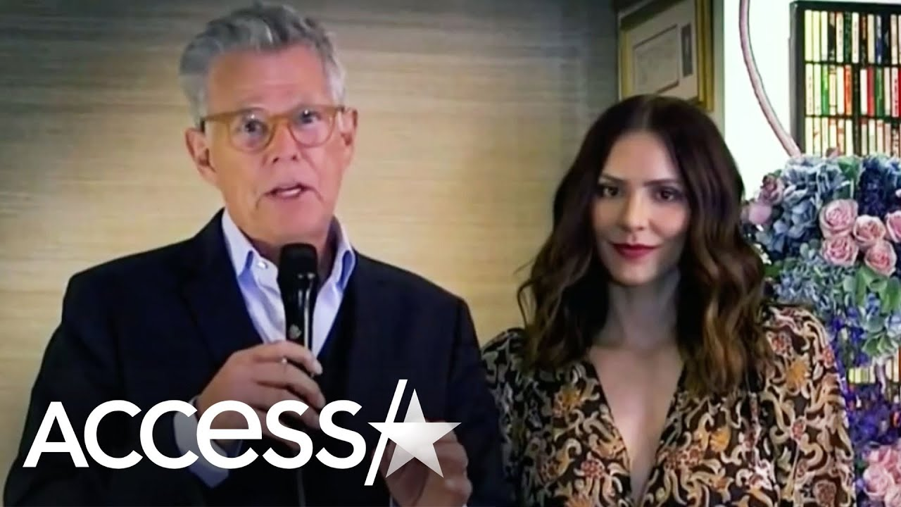 Katharine McPhee Shows Off Baby Bump In David Foster Performance