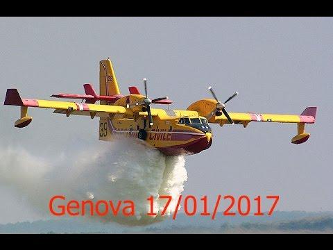 Genova incendio del 17/01/2017