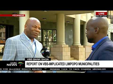 VBS bank saga  | Report on VBS implicated municipalities