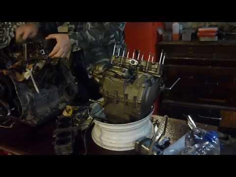 сборка двигателя сузуки бандит 250