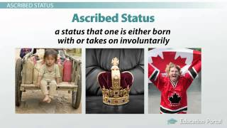 essay on ascribed status Your master status is your most important status and people tend to interact being a student is an example of an achieved status (as opposed to an ascribed one.
