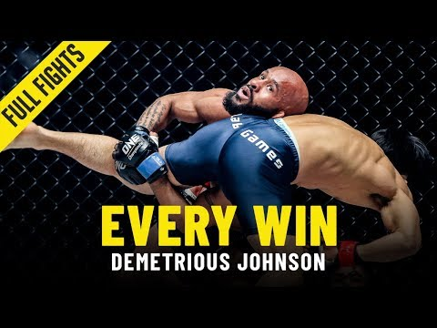 Every Demetrious Johnson Win | ONE Full Fights