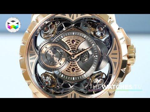 Roger Dubuis Excalibur Quatuor: astounding 4 balance wheels timepiece