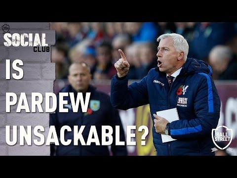 IS ALAN PARDEW UNSACKABLE? | SOCIAL CLUB
