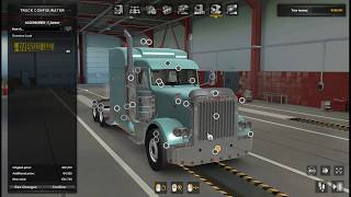 Details & Download https://www.modland.net/euro-truck-simulator-2/trucks/peterbilt-389-scs-1.37-1.38.html        SCS Peterbilt 389 truck adapted from ATS to ETS2 All chassis and cabs, 8 engines, 4 gearboxes are available. All tuning, which is available from zero level and has a very affordable price tag.  The engines are fully tuned, torque curves, engine braking revolutions and power mode, engine sounds from Robinicus are described in detail, fuel consumption is reduced (you can press the trigger on the trigger to the average consumption at high speeds of 30 liters per 100 km).  12, 18 high-speed and 8-speed transmissions have the main pairs 4.10 and 6.33, respectively, which positively affects the transmission of torque to the drive wheels. In all transmissions, the delay when shifting gears in automatic mode is reduced, which significantly reduces the loss of torque and speed when shifting to another gear and reduces the acceleration time of the truck.  The chassis and cockpit collisions are modified to easily overcome off-road conditions, without jams and without taking damage (at a reasonable speed).  Comfortable Physics Mod good handling and brakes allow you to comfortably travel at speeds from 120 km / h to 150 km / h.  Modified fines: speeding tickets are disabled, all other fines for traffic violations work.  Link 3 Template  Credits: SCS, adapted PRAPOR