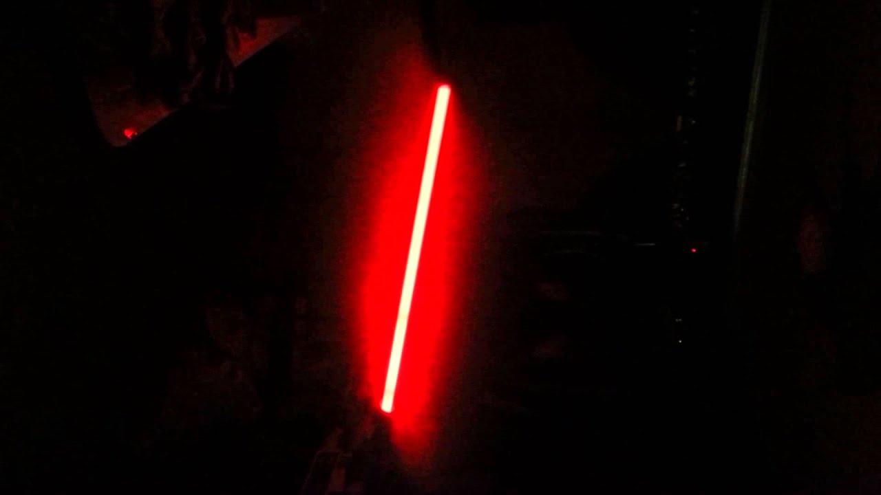 rare 2005 star wars darth vader light saber demonstration