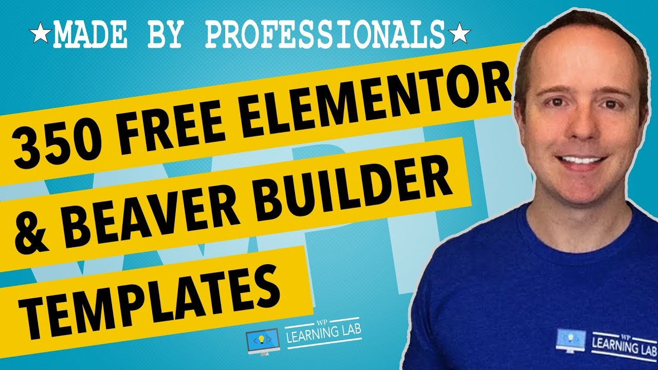 Free Elementor Templates & Free Beaver Builder Templates By Envato