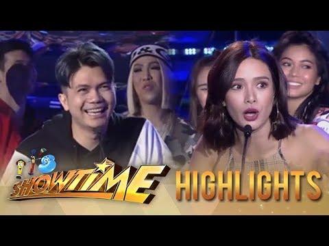 It's Showtime PUROKatatawanan: Vhong's strong joke!