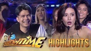 It's Showtime PUROKatatawanan: Vhong's strong joke!