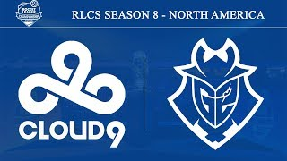 Cloud9 vs G2 Esports | RLCS Season 8 - North America: Promotion Playoffs (30th Nov 2019)