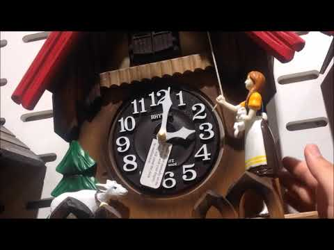 ah!! oh!! Rhythm Cuckoo Clock is not enough Battery
