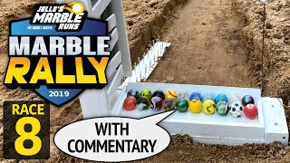Sand Marble Rally 2019 Race 8 (FINAL) - Jelle's Marble Runs