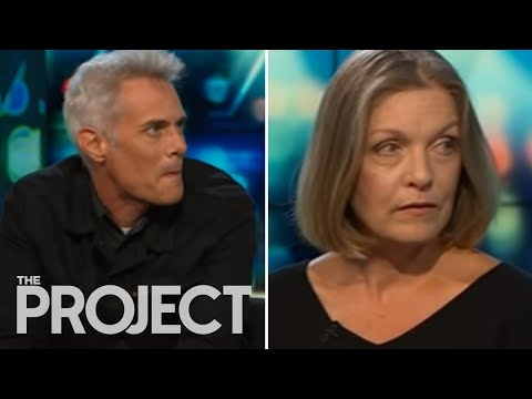 Twin Peaks stars Sheryl Lee and Dana Ashbrook visit The Project NZ  hub