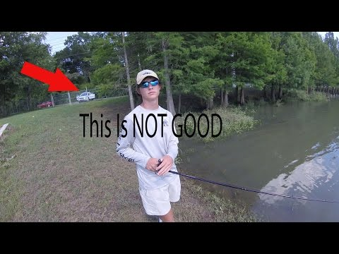 We Got In Trouble For Fishing