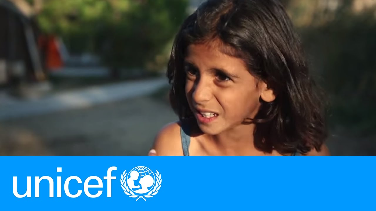 Friends Of Syria >> The dangerous boat ride to Greece through the eyes of a Syrian refugee girl | UNICEF - YouTube