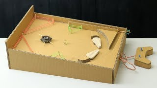 How to Make Pinball Game Machine at Home