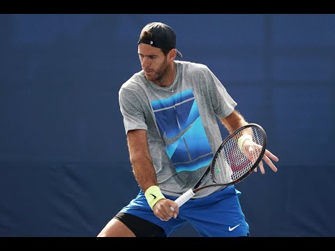 2017 US Open: 15-Love With Juan Martin Del Potro