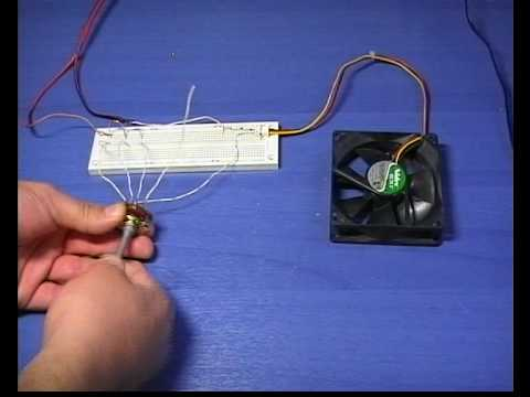 Fan Speed Control Circuit 3 Youtube