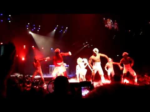 Lady Gaga - Puke Film + LoveGame  in Boston July 2