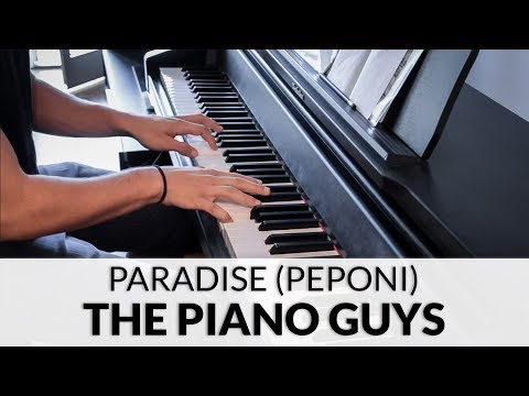 The Piano Guys - Paradise (The Piano Guys Peponi Version) | Piano Cover