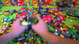 lot of candy