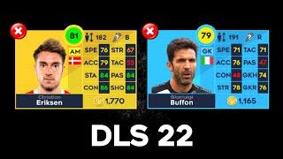 Players Not In Dream League Soccer 2022! 😭💔 screenshot 4