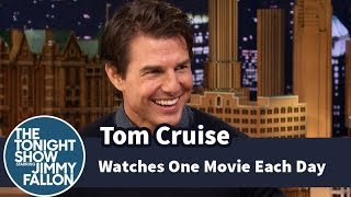 Tom Cruise Watches One Movie Each Day