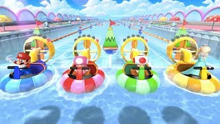 Mario Party 10 - All Racing Minigames | MarioGamers