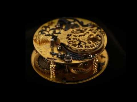 Pierre II Huaud, Gold and Enamel Pendant Watch