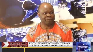 VIEW FROM THE TOP: Politics of marginalization in Kenya